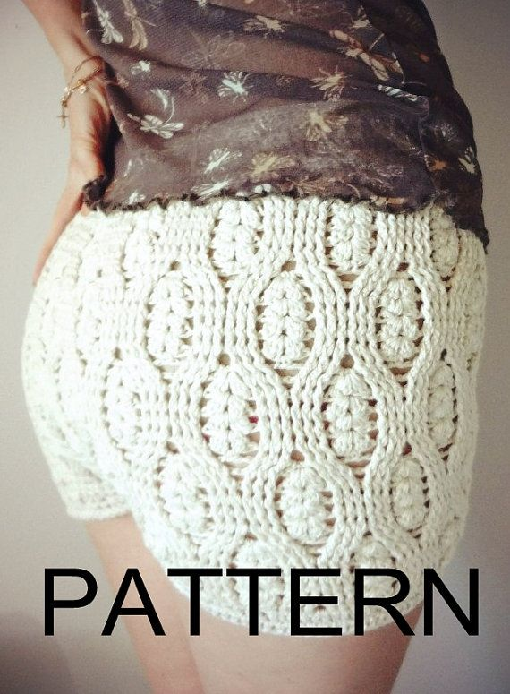 PATTERN Short sexy crochet shorts for summer beach by CopperLife, €4.00