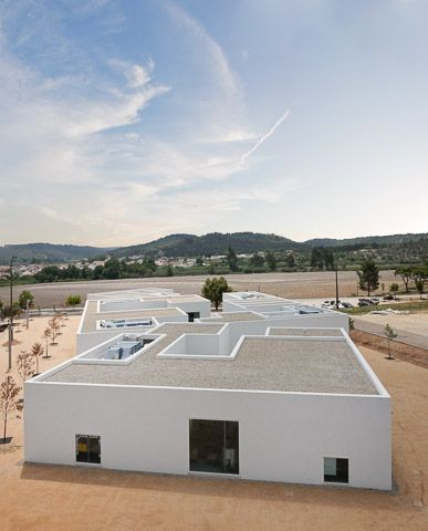 School Centers in Abrantes by AIRES MATEUS ASSOCIADOS