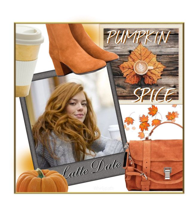 Pumpkin Spice Latte! by whirlypath on Polyvore featuring Fratelli Karida and Proenza Schouler