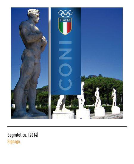 Marchio Coni - Segnaletica 2014