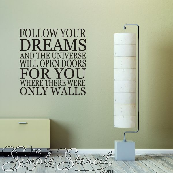 Positive wall quotes