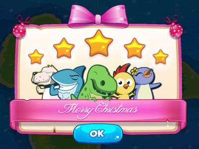 Christmas theme UI Modal
