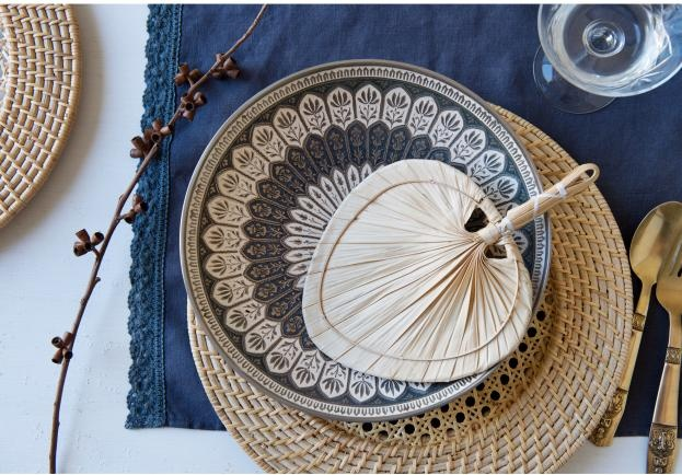 Bowerhouse Le Marias Placemat & Calypso Plate Charger