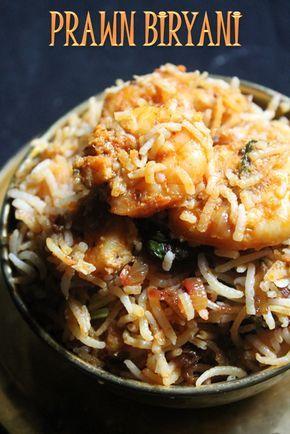 YUMMY TUMMY: Prawn Biryani Recipe / Prawn Dum Biryani Recipe / Shrimp Biryani Recipe