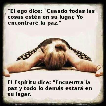 Ego vs Espiritu #frases