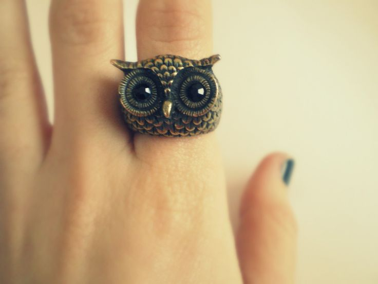 Owl ringOwls Ringlook, Carmen Owls, Amazing Owls, Night Owls, Precious Rings, Fashion Favourite, Vintage Style, Owls Jewelry, Owls Rings