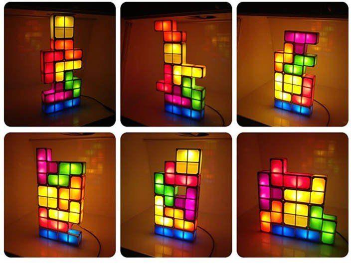 Tetris Lights Desk Lamp Led Desk Lamp Led Night Light