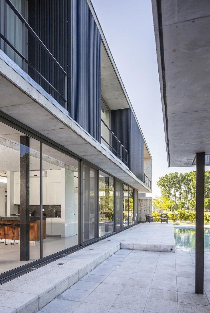 M s de 1000 ideas sobre casas residenciales en pinterest for Proyectos minimalistas