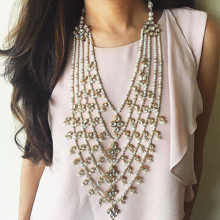 Hey there to the princess in you  #AmyraNecklace #Prerto #Fashion #Love #AboutALook #Statement #Style #Luxury #Jewelry #NewIn #Necklaces #Pearls #Gold #Blog #BlogPost #Bridesmaids #Wedding #IndianWedding