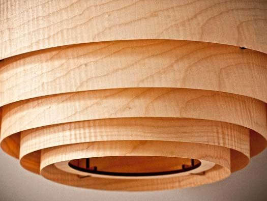 103 best lamp shades images on pinterest light fixtures cool wood veneer boll chandelier pendant lighting wood veneer chandelier pendant lighting inspired by scandinavian design once lit it created a warm and aloadofball Images