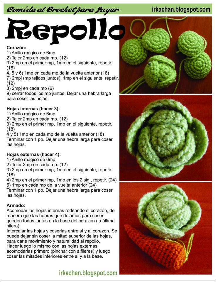 Irka!: Comida al Crochet - parte 1