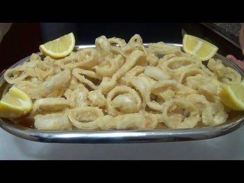 Un viandante in cucina: Anellli di Calamari fritti, fritto misto perfetto