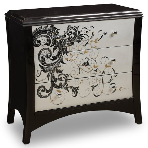 Find it at the Foundary - Modern Graphics 3-Drawer Chest