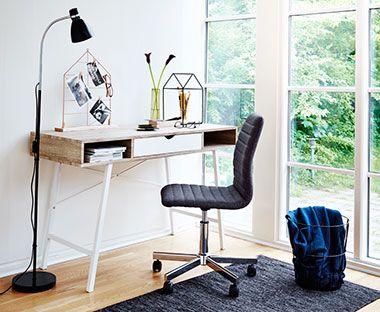 Työtuolit ja tietokonepöydät JYSKistä