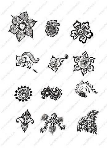 Free Simple Mehndi Patterns Hands Henna Designs thumb