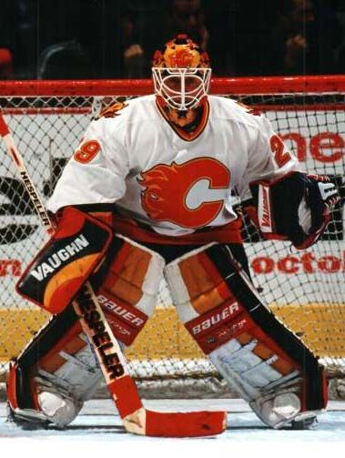 Mike Vernon, 2nd time with the Flames