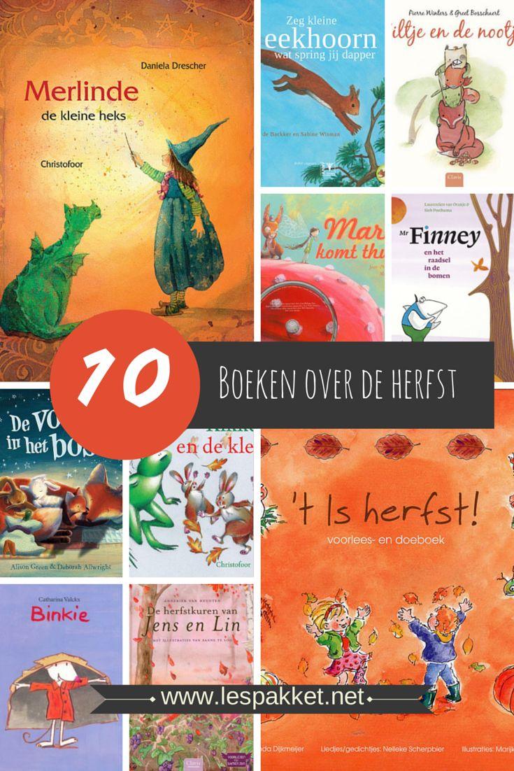 10 boeken bij het thema herfst - Lespakket