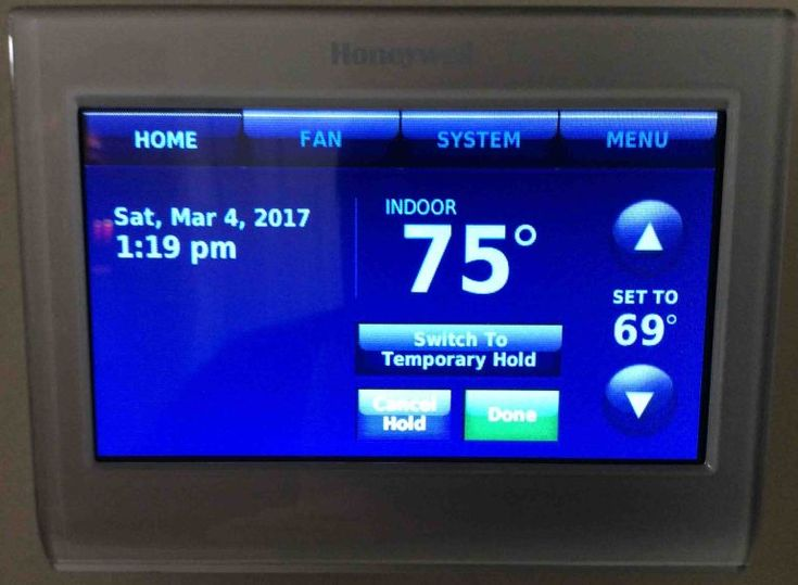 How To Change Temperature Setting On Honeywell Thermostat Tom S