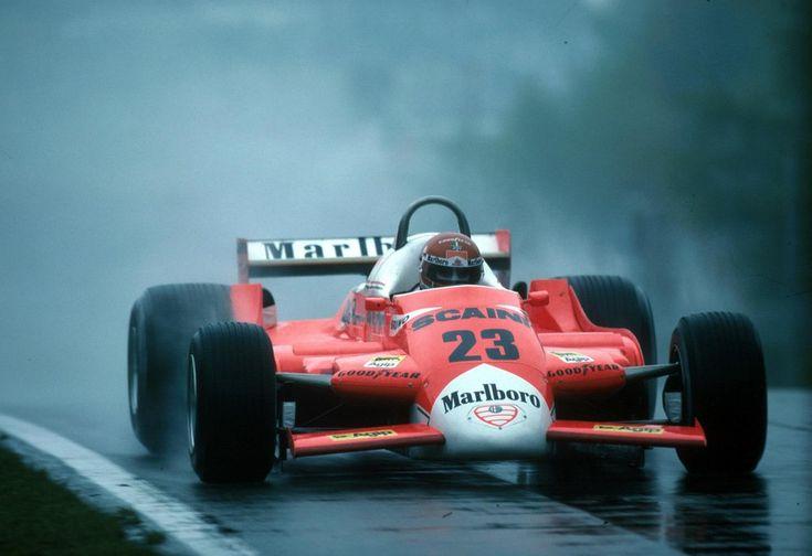 1980 GP Belgii (Bruno Giacomelli) Alfa Romeo 179