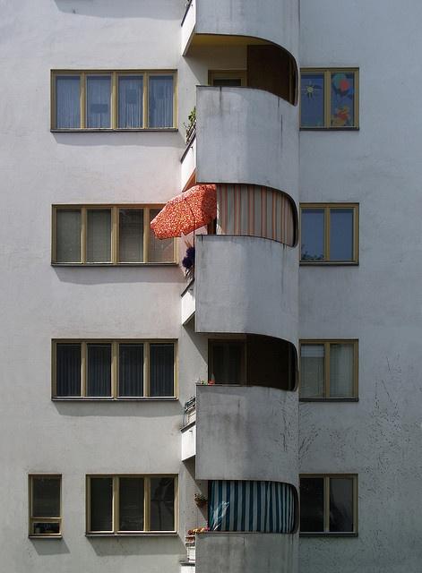 Hans Scharoun, siemensstadt housing, 1929-1931