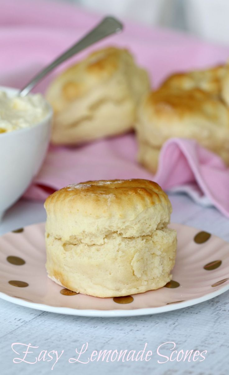 The secret to perfectly fluffy scones is the lemonade! They're quick, easy and…