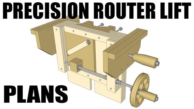 the precision router lift ..ibuildit.ca