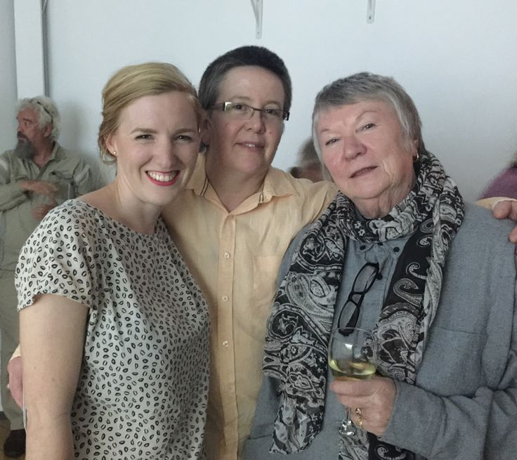 A group of distinguished local artists and patrons attended the presentation of 'Evergreen' at RAYGUN gallery, by world renowned Danish artist Eva Koch, who recently spent time in Toowoomba.
