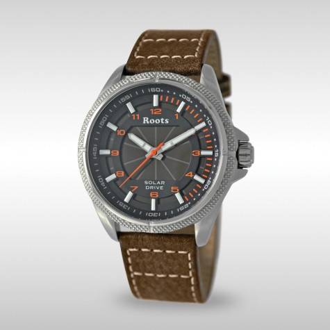 Solar Rechargeable Roots Watch