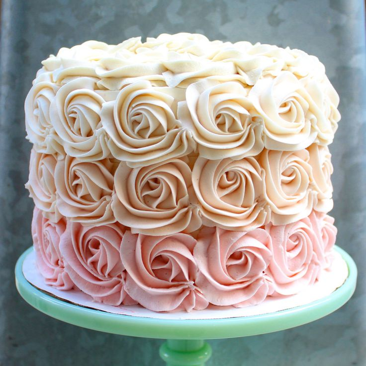 The best frosting recipe!!! This American buttercream is so easy to smooth and pipe!