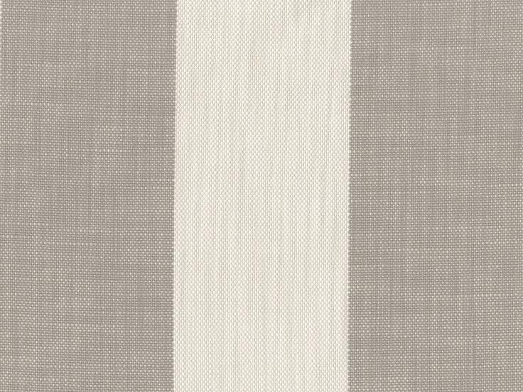 Perennials Fabric - Vintage Stripe - Dove  Outdoor