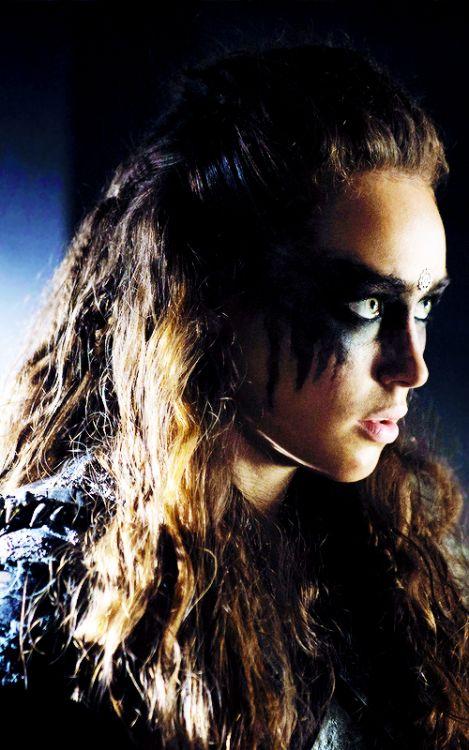 Alycia Debnam Carey as Lexa - The 100