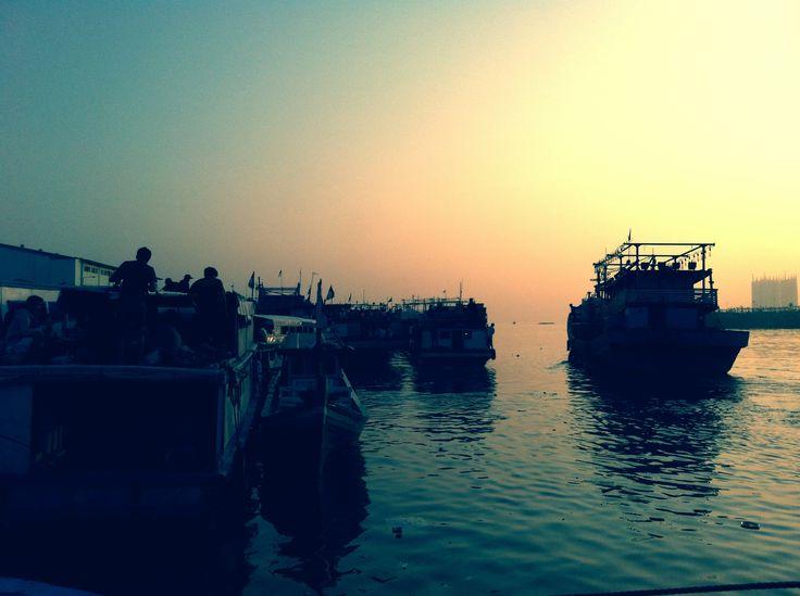 at dawn we sail, Muara Angke Harbor Jakarta