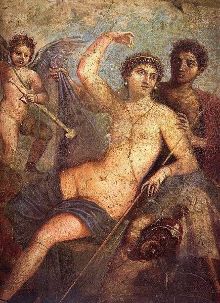 Mars and Venus from Pompeii - Casa di Marte e Venere.