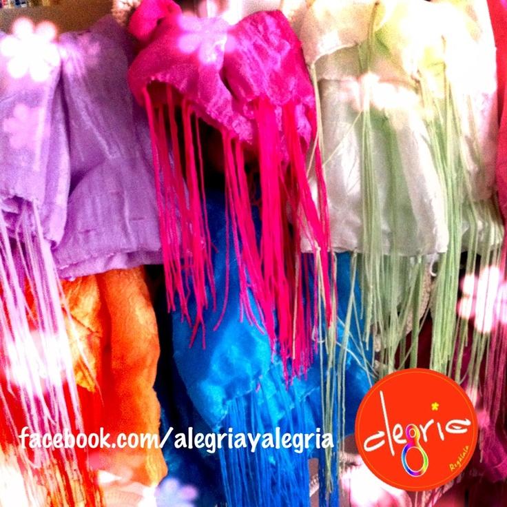 Siempre rodeados de colores !