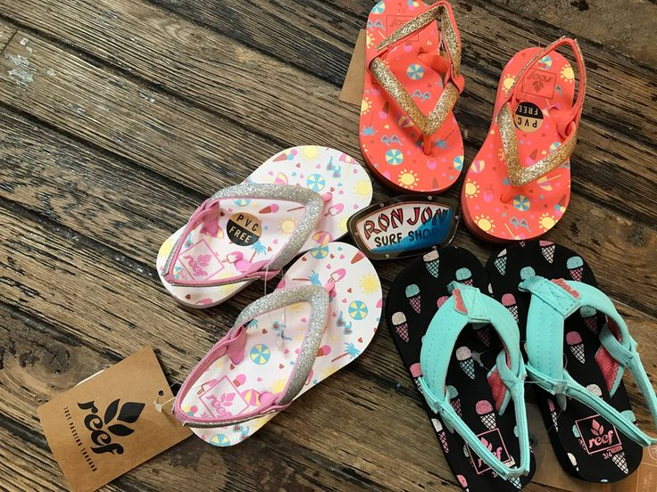 Ron Jon Surf Shop #reef #girls #sandals #icecream