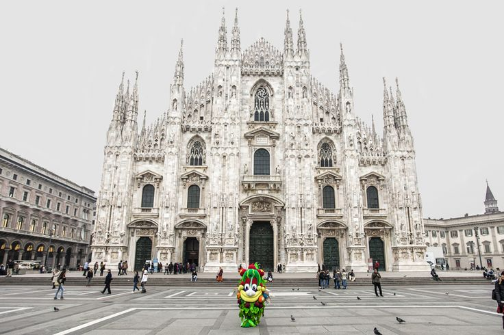 """5 months from Expo2015, I'm resting in Piazza del Duomo. Come and visit Milan!""  #Foody #Expo2015 #Milano #Italy"