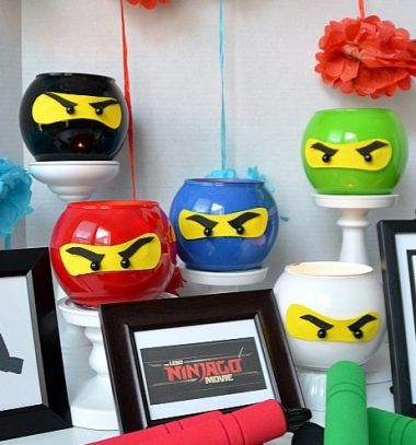 Lego Ninjago - easy DIY ninja lanterns // Lego Ninjago nindzsa lámpások egyszerűen // Mindy - craft tutorial collection // #crafts #DIY #craftTutorial #tutorial #LegoBuilding #LegoCrafts #DIYLego