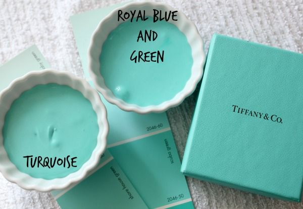 how to make turquoise with food coloring