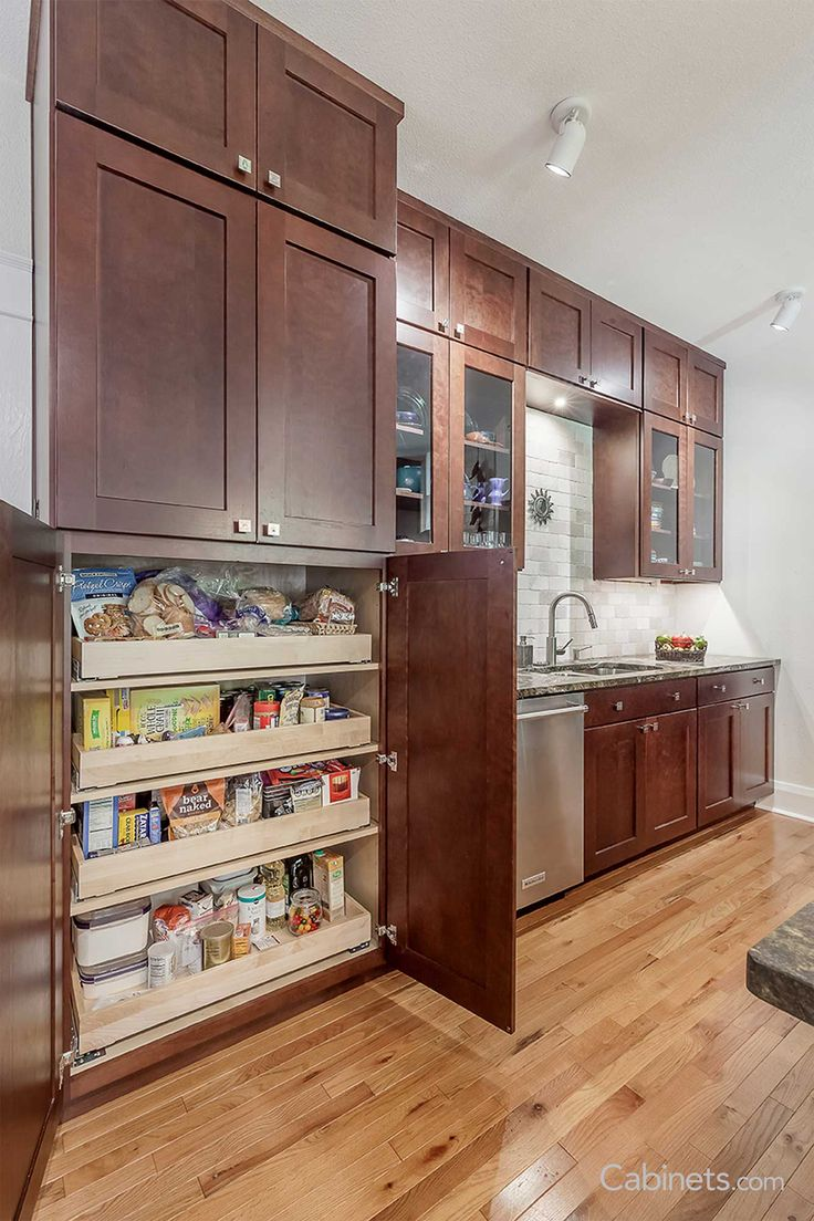 Fresh Shaker Style Pantry Cabinet
