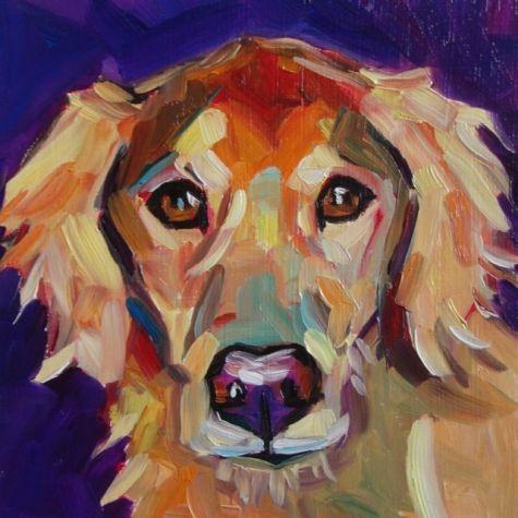 Sophie, Dog Portrait - Elizabeth Fraser