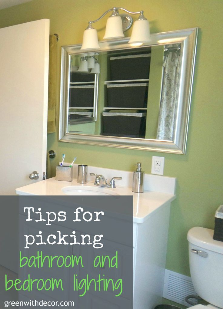 Green With Decor – Tips for picking light fixtures for the bathroom and bedrooms