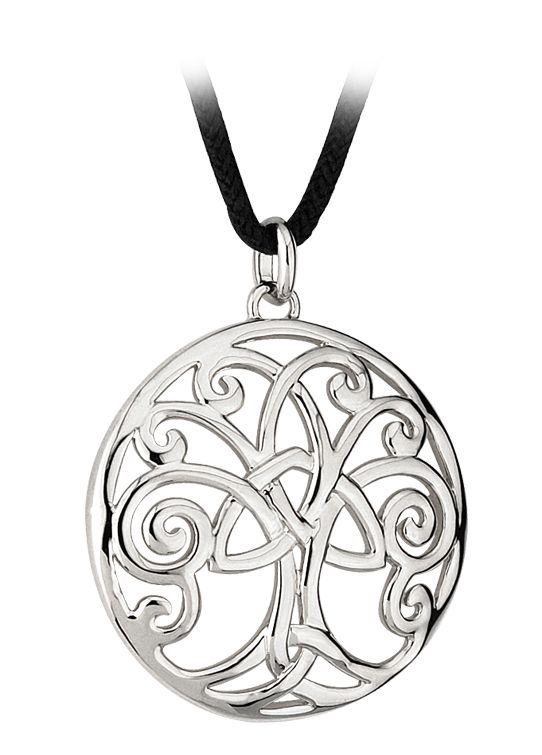 Celtic Pendant - Celtic Tree of Life Pendant with Cord - IrishShop.com