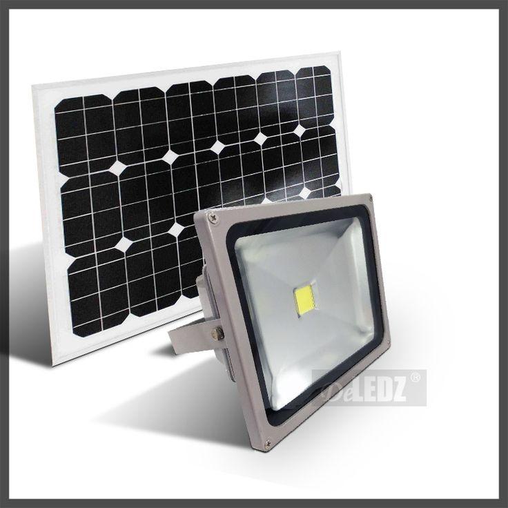 High bright led solar power dusk to dawn flood light