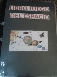Tu profe de infantil (4 años): Libro juego del espacio.