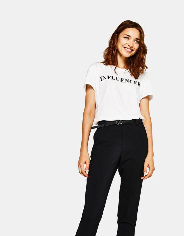 Women's Trousers - Autumn Winter Collection 2017   Bershka