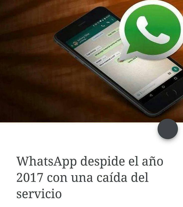 #Repost @Regranned from @venezuelalucha -  La aplicación de mensajería instantánea más popular WhatsApp ha sufrido este domingo 31 de diciembre problemas en su servicio que se prestó con discontinuidad.  Los usuarios vivieron los problemas con nerviosismo en las redes sociales en uno de los momentos del año con mayor utilización del mismo.  Las populares felicitaciones del nuevo año tuvieron en algunos casos que esperar a que WhatsApp normalizase su funcionamiento.  #vzla2 - #regrann