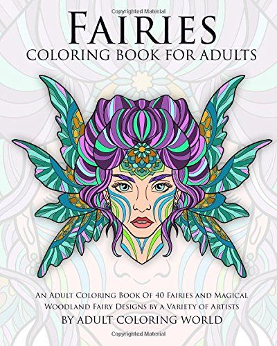 1000 images about fairy adult coloring books on pinterest Coloring books for adults on amazon