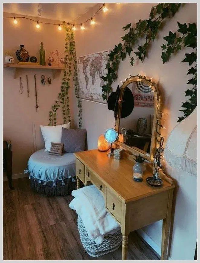 Aesthetic Dorm Room: 189 Elegant Dorm Room Decorating Ideas -page 21