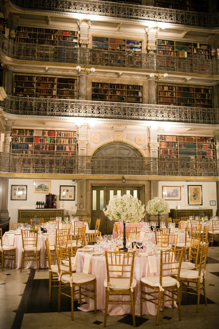 Choose a venue where books line the walls -  a library, book shop or story museum. Photography: Maria Linz Photography - www.marialinzphotographyblog.com/