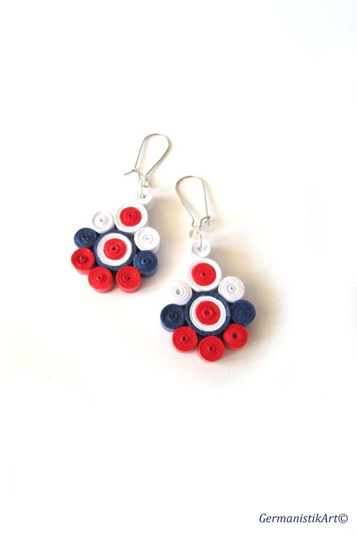 the 25+ best diy earrings paper ideas on pinterest | diy flowers